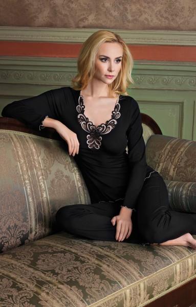 Pyjama Grace - schwarz