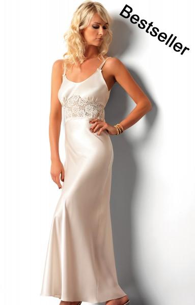 Luxus Seidensatin Nachtkleid Maxima